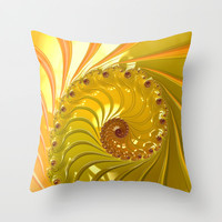 Sunny side up Throw Pillow by ACKelly