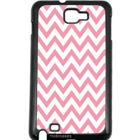 Chevron Pattern- Bubblegum Samsung Galaxy Note 2 Note II N7100 Case - For Samsung Galaxy Note 2 Note II N7100