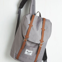 Menswear Inspired Intrepid Trek Backpack by Herschel Supply Co. from ModCloth
