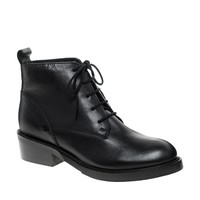 ASOS ACRE Leather Ankle Boots