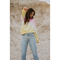 Emily Tie Dye Pullover (Pink)