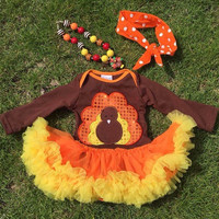 Girls Thanksgiving Outfit, Baby Thanksgiving Onesuit, Thanksgiving Tutu, Baby Thanksgiving Dress, Thanksgiving Outfit, Baby Turkey Onesuit