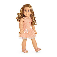 American Girl® Dolls: Shimmer & Lace Party Dress for Dolls