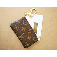 Louis Vuitton LV Key Bag Monogram Canvas Key Pouch