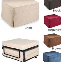 Fold-Out Ottoman Bed, Folding Bed Ottoman Sleeper| Solutions