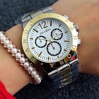 PANDORA Woman Men Fashion Print Watch Business Watches Wrist Watch White Watch Dial  G-Fushida-8899
