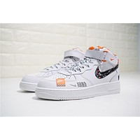 Just Do It Nike Air Force 1 Mid Aq8650 100 | Best Deal Online
