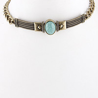 Tribal Style Collar Necklace