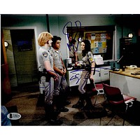 Danny Masterson, Mila Kunis and Wilmer Valderrama Signed 'That 70's Show' 8x10 Photo Beckett A58670