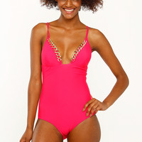 Chain Link One Piece Swimsuit