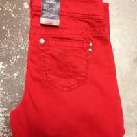 Silver Jeans Co. Suki Skinny - Red