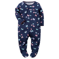 Cotton Zip-Up Sleep & Play