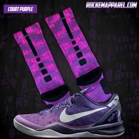Easter Collection - Kobe Custom Nike Elite Socks | Rock 'Em Apparel