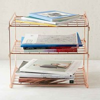 Copper Wire Shelf