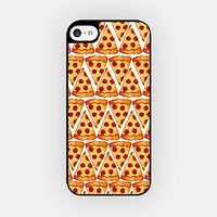 for iPhone 6/6S Plus - High Quality TPU Plastic Case - Pizza Slices Emoji - Smiley - Emoticon