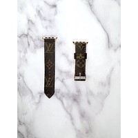 Ready to Ship LV Monogram Buckle Band in M/L 42/44mm