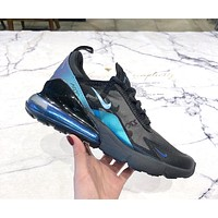 Samplefine2 NIKE AIR MAX 270 2019 new cushioning mesh breathable sneakers black