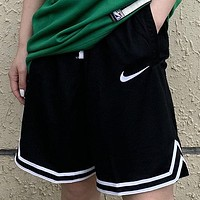 NIKE New fashion hook sports leisure shorts Black