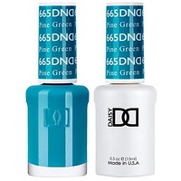 DND - Gel & Lacquer - Pine Green - #665