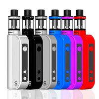 ECT Traveler 50W Kit 2.0ml easily carry 2200mha battery compare with SMOK Vapor storm box mod e cigarette kit
