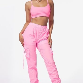 Cloud 9 Two Piece Set Candy Pink