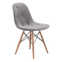 Probability Dining Chair Gray Wood