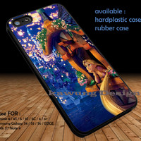 Disney Tangled Rapunzel DOP138 iPhone 6s 6 6s+ 5c 5s Cases Samsung Galaxy s5 s6 Edge+ NOTE 5 4 3 #cartoon #animated #disney #tangled