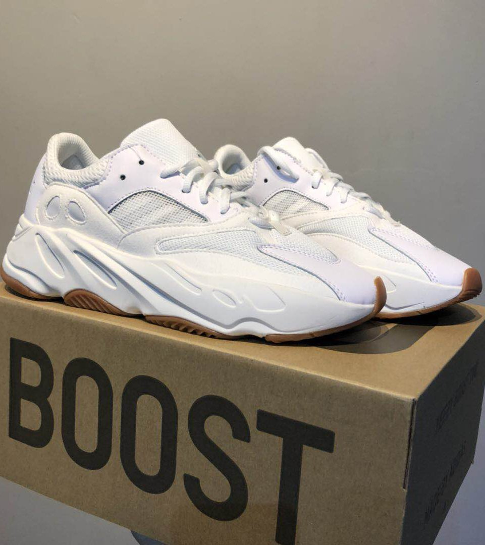 Image of Adidas Yeezy 700 Runner Boost Fashion Casual Running Sport Shoes Sneakers