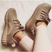 """Adidas"" Yeezy Women Boost Sneakers Running Sports Shoes (3-color)"