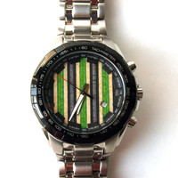 Mens Watch. Recycled Skateboards. Skate Art (042544)
