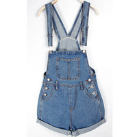 Personalized ssy fashion popular jeans bib pants denim jumpsuit shorts casual rompers overalls