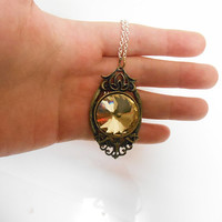 Game of Thrones margaery tyrell Amber Necklace Pendant