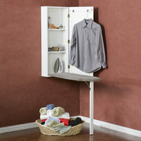 Hester Wall-Mount Ironing Center at Brookstone—Buy Now!