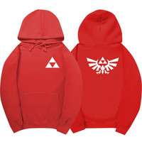 The Legend of Zelda Red Hoodie