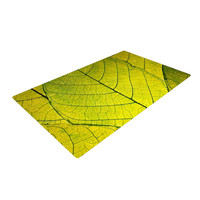 """Robin Dickinson """"Every Leaf a Flower"""" Woven Area Rug, 2' x 3' - Outlet Item"""