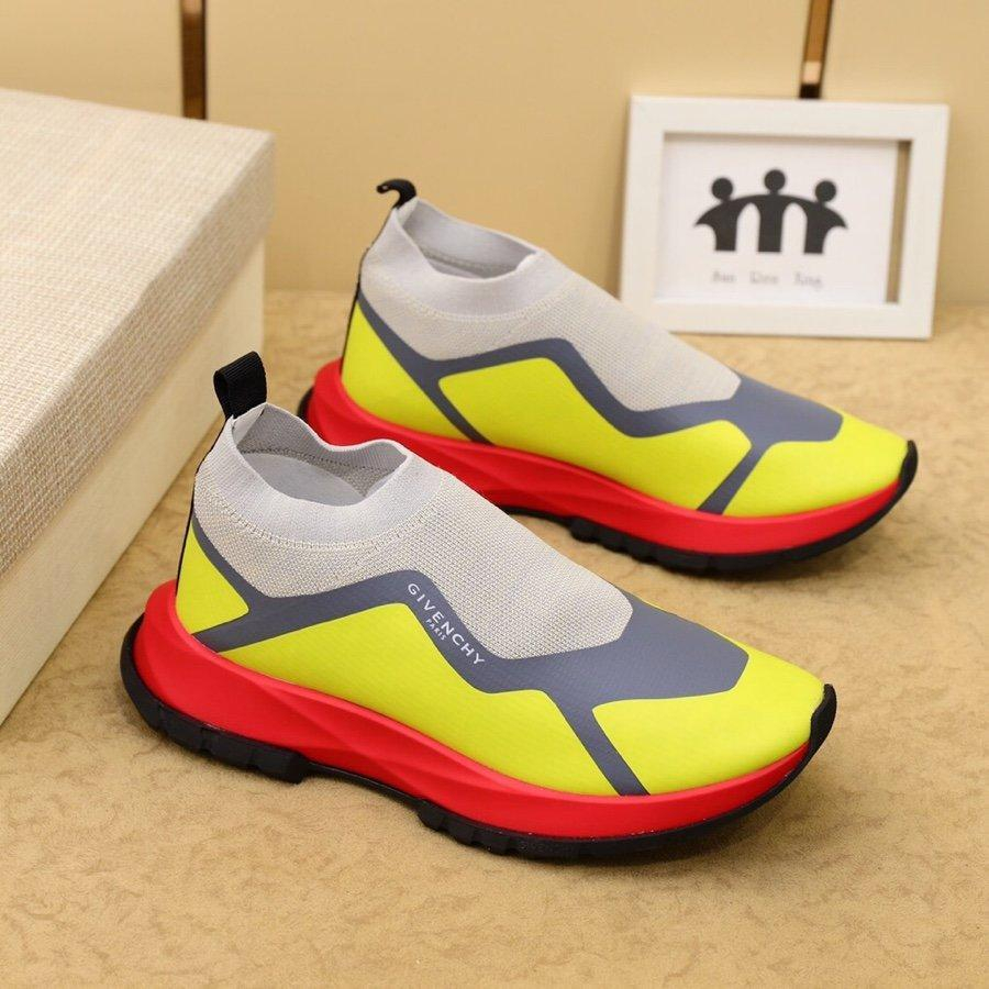 Image of Givenchy  Men Fashion Boots fashionable Casual leather Breathable Sneakers Running Shoes
