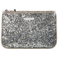 SEPHORA COLLECTION Arm Candy Clutch - Silver (8 ½ W  x 5 ¾ H)