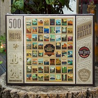 100th Anniversary of the 60 National Parks, Wilderness Wonder, 500 Piece Jigsaw Puzzle