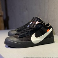 Kuyou Gx29827 Off-white X Nike Balzer Mid Black Sneakers