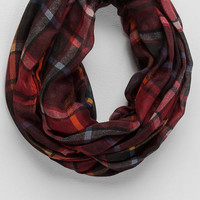 Alto Plaid Loop Scarf