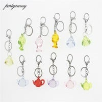 Monkey Doll Keychains For Women Fashion Jewelry Teapot Keyring Pendant  Gem Key Backpack Decoration For Guests Party Favors Gift