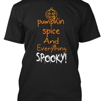 Pumpkin Spice And Everything Spooky Halloween