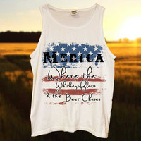 Where the Whiskey Flows & The Beer Chases Tank