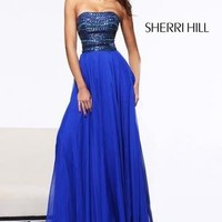 Sherri Hill 1539 Sherri Hill Prom Dresses, Pageant Dresses, Cocktail | Jovani | Sherri Hill | Terani | Mac Duggal | La Femme from Glitteratistyle.com