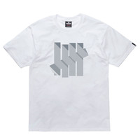 Undefeated: Dimension Strike Shirt - White