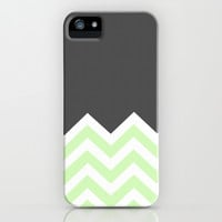Color Blocked Chevron 15 iPhone & iPod Case by Josrick