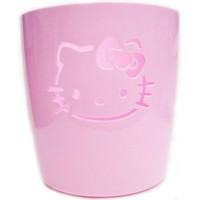 Hello Kitty Pink Trash Can