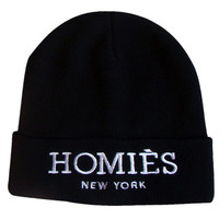 Reason Clothing   | Accessories & Hats    | Reason Homiés Beanie Black-
