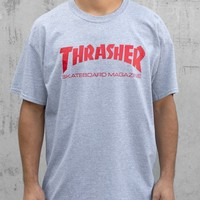 Thrasher Magazine Shop - Thrasher Skate Mag T-Shirt (Gray/Red)