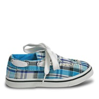 Toddlers' Kaymann Boat Shoes - Turquoise Plaid (Special Offer)